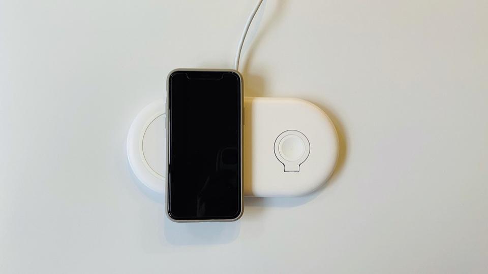 Ankerのワイヤレス充電器の置き方