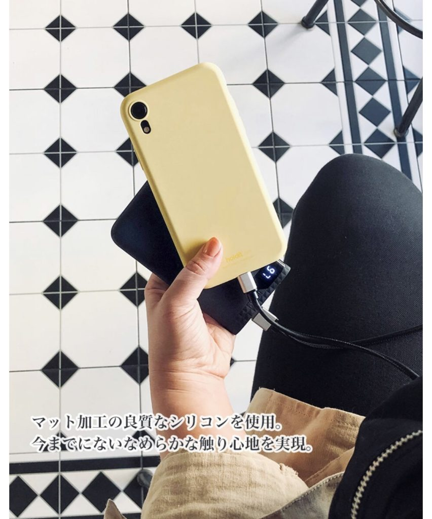 HolditのiPhoneケース公式説明画像
