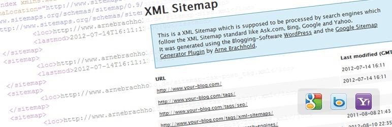Google XML Sitemapsの画像